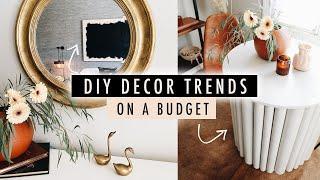 DIY 2020 DECOR TRENDS on a Budget // Thrift Flip Home Decor