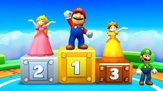 Mario Party: Star Rush Minigames - Mario vs Luigi vs Peach vs Daisy