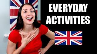 Everyday Activities English Phrasal Verbs In Use - Intermediate