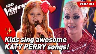 TOP 10 | Would KATY PERRY turn for these young singers in The Voice Kids?