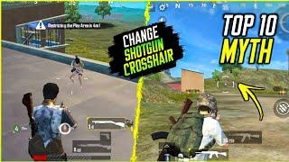 Top 10 Mythbusters in PUBG Mobile Lite | Changing Shotgun Crossair | Episode 7 |