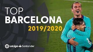 TOP 10 GOLES FC Barcelona LaLiga Santander 2019/2020