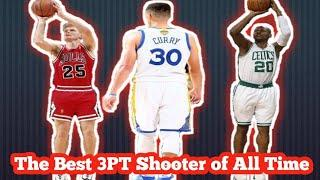 Top 10 three point Shooter in NBA History (percentage)