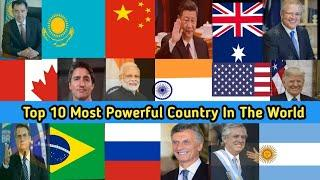 Top 10 Largest Country In The World ||दुनिया के 10 सबसे बड़ी देश || Powerful Country In The World ||