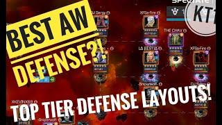 Tier 1 AW Defense Example :KENOB! Defense Tactics , Placements And Discussion!