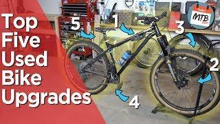 5 Used Bike Upgrades Worth Making!