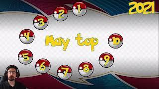 Top 10 theme decks May 2021 / Pokemon TCG Online