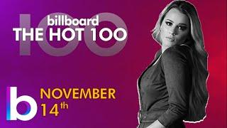 Billboard Hot 100 Top Singles This Week (November 14th, 2020)