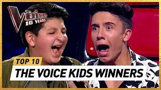 Blind Auditions of the BEST WINNERS in 10 Years The Voice Kids