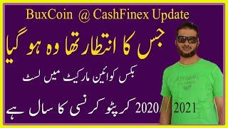 Latest Update Of Buxcoin Cashfinex, Bitsolives Listed On CoinMarketcap In Urdu Hindi