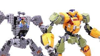 LEGO Battle Mech (Example For Big Mech Frame) - Build Video