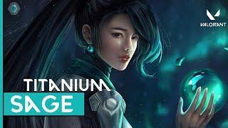 Worst Sage Gameplay | Platinum 1 | Valorant Live India | Rank Push | Titanium Gaming