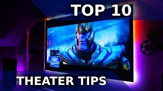 10 Tips for building the BEST Home Theater System in 2020! | DOLBY ATMOS | DTS:X | 4K SETUP