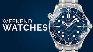 "Omega Seamaster Diver 300M; Rolex GMT ""Coke"" Bezel; Patek Philippe Nautilus: Buy Watches!"