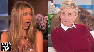 Top 10 Secrets Celebrities Revealed On Talk Shows