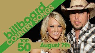 Billboard Country Songs Top 50 (August 7th, 2021)