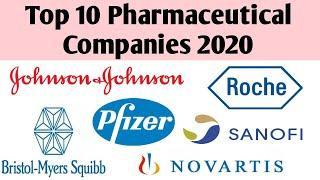 Top 10 Pharmaceutical Companies in world 2020 | Top Pharma company | 2020 Top 10 Pharma companies