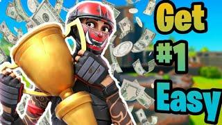 How To PLACE HIGHER In SOLO CASH CUP TIPS - Fortnite Tips Chapter 2 Season 3