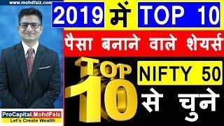 2019 में TOP 10 पैसा बनाने वाले शेयर्स | SHARE MARKET PORTFOLIO | Long Term Investment In Stocks