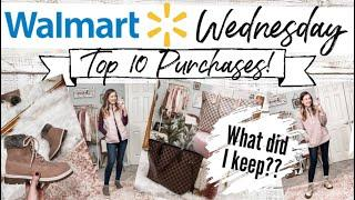 WALMART WEDNESDAY: TOP 10 FAVORITE PURCHASES! What Have I Kept??