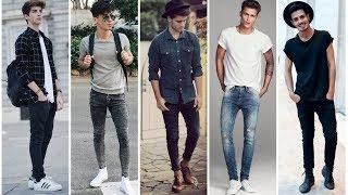 Most Stylish Outfits For Skinny Guys | Attractive Outfits For Skinny Men | Mens Fashion & Style 2020