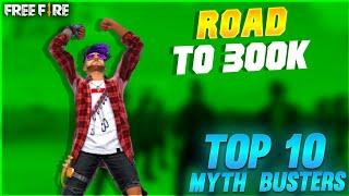 Top 10 Myth Busters Tamil || Free Fire Tricks Tamil