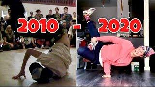 10 Years Of Breakdancing Progression | MagnusMagneto