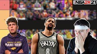 REACTING TO DBG RANKING THE BEST POINT GUARDS IN NBA 2K21 MyTEAM!! (Tier List)