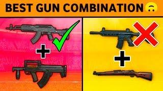 TOP 10 GUN COMBINATION IN PUBG MOBILE • PUBG MOBILE GUN COMBO • PUBG MOBILE TIPS