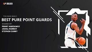 NBA 2K21 NEXT GEN TOP 4 PURE POINT GUARD BUILDS - 4 SPEEDBOOSTING CONTACT DUNKING 50+ BADGE BUILDS