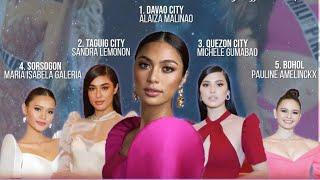 TOP 10 STRONGER CANDIDATES AS OF NOW - MISS UNIVERSE PHILIPPINES 2020