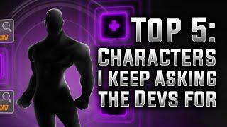 Top 5: Characters I Keep Asking the Devs for - MARVEL Strike Force - MSF