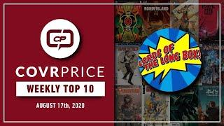 CovrPrice Top 10 Hot Comic Books Sold week ending August 16th