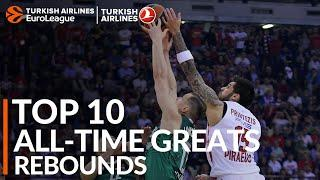 Top 10 All-time Greats: Total Rebounds