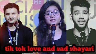 Tik tok sad and Love Shayari Trending