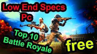 Top 10 FREE Battle Royale Low End PC Games ( 2gb ram ) 2020