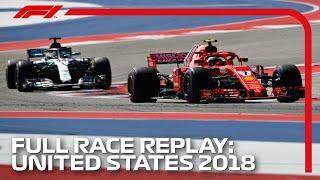 F1 REWIND - 2018 United States Grand Prix, Full Race Replay | Presented by Pirelli