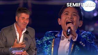10-Year-Old Filipino Singer Peter Rosalita Gets Simon Cowell EMOTIONAL with Shocking Voice!