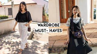Top 10 Wardrobe Essentials   Basic Staples & How to Style Them