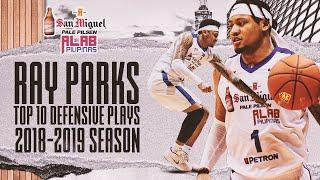 Ray Parks Top 10 Defensive Plays of the 2018-19 Season