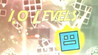 Top 10 - BEST 1.0 Styled Effect Levels   Geometry Dash   Onyx GD
