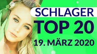 SCHLAGER CHARTS 2020 - Die TOP 20 vom 19. März