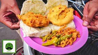 Pune Food Tour with Veggiepaaji   Spicy Smoked Misal, Garden Vada Pav & More   Indian Street Food