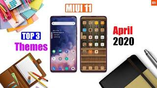 Top 3 MIUI 11 Themes [NO Third Party] MIUI 11 Supported themes of April 2020