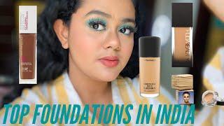 Top Foundations for all skin types | Affordable & High End | Full coverage | Shivakshi Dixit