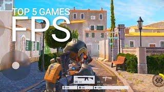 Top 5 Best FPS Games For Android and iOS 2019
