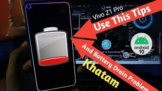 Vivo Z1 Pro Battery Drain Problem & Solution after Android 10 Update