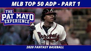 2020 Fantasy Baseball Rankings — Top 20 Overall Player Rankings, Average Draft Position