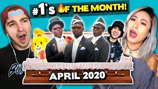 Adults React To #1 Viral Trends In April 2020 (Coffin Dance Meme, TikTok Naked Challenge & More!)
