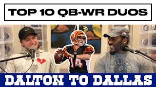 The Arthur Moats Experience With Deke: Ep. 69 (Top 10 QB-WR Combo/Andy Dalton To Dallas Cowboys)